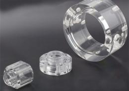 CNC machining in PMMA (Acrylic)
